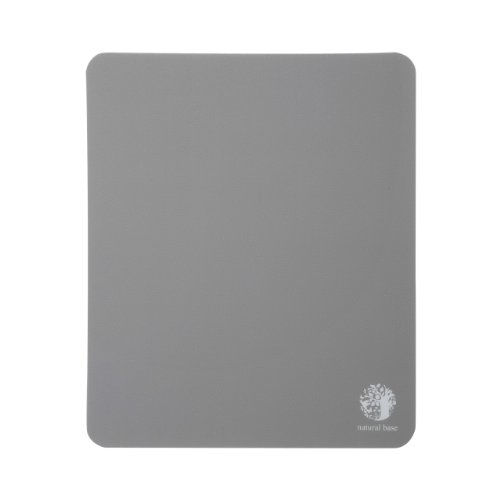 サンワサプライ ベーシックマウスパッド(ブラック) natural base MPD-OP54BK 1個