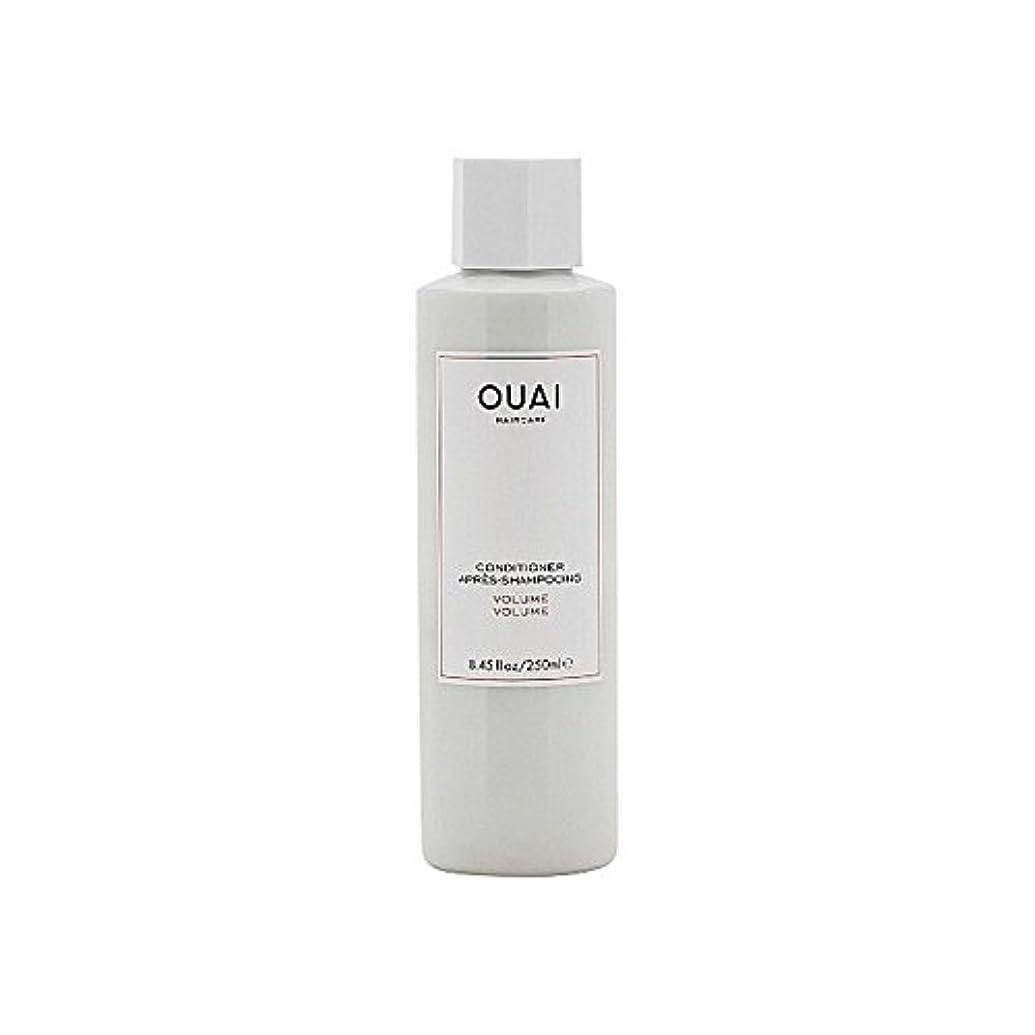 挑発するドレス宣伝Ouai Volume Conditioner 250ml (Pack of 6) - ボリュームコンディショナー250 x6 [並行輸入品]
