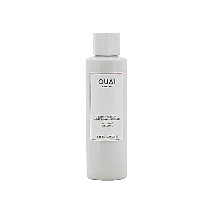 Ouai Volume Conditioner 250ml (Pack of 6) - ボリュームコンディショナー250 x6 [並行輸入品]