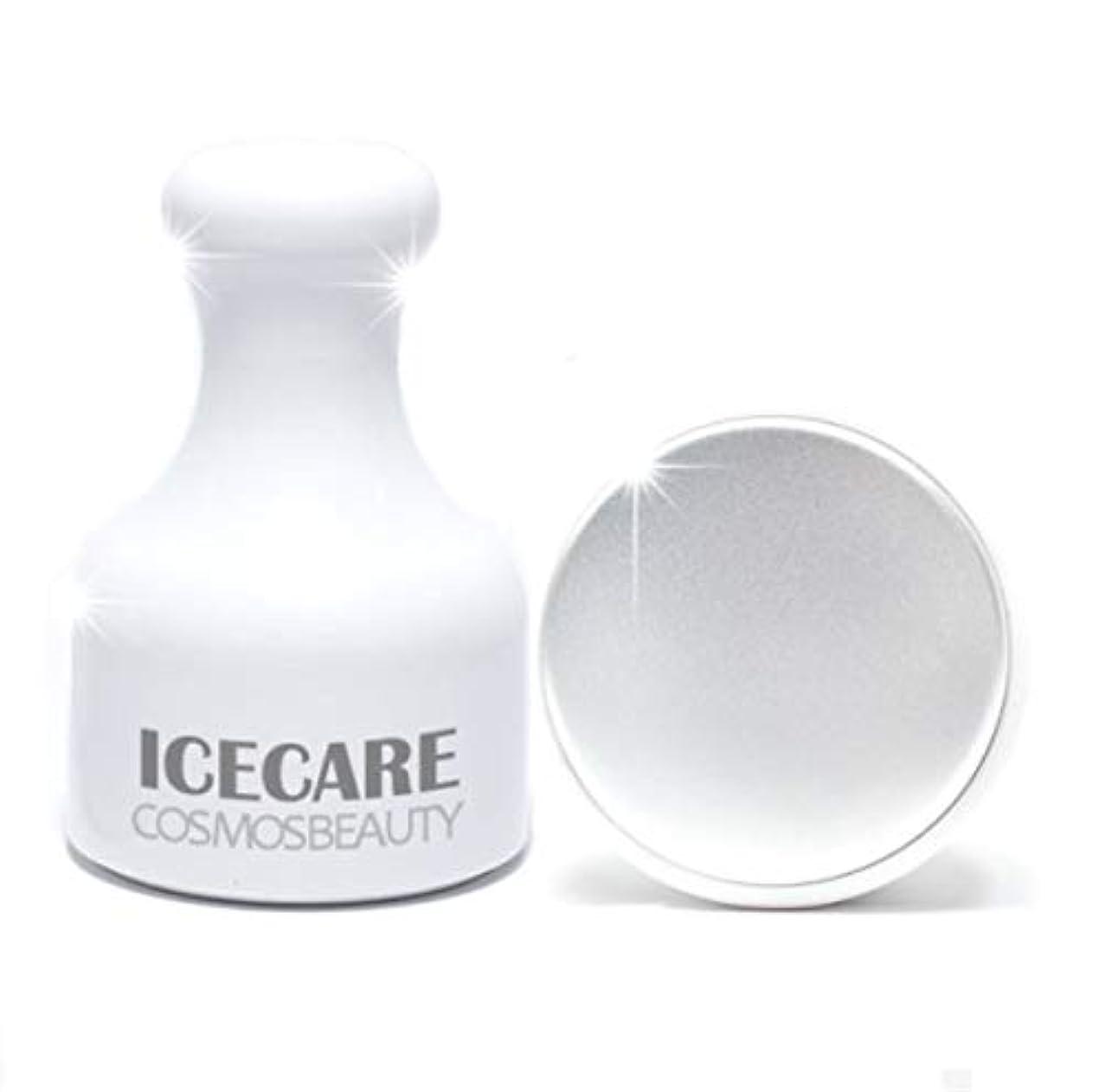 スタック事実システムCosmosbeauty Ice Care 毛穴ケア、冷マッサージ,フェイスクーラーアイスローラーフェイスローラー顔マッサージ機構の腫れ抜き方法毛穴縮小(海外直送品)