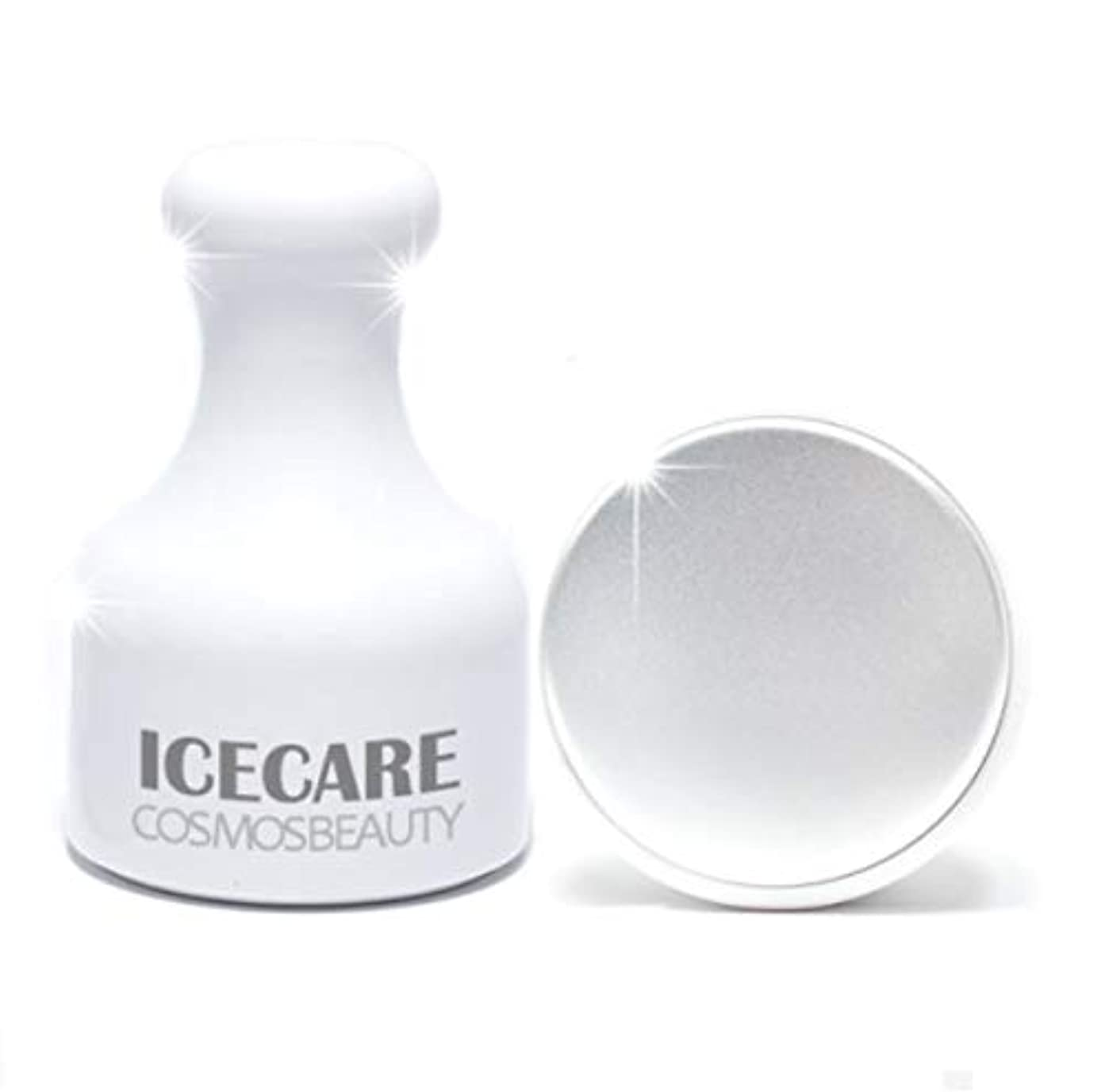 ビスケットプライバシー地域Cosmosbeauty Ice Care 毛穴ケア、冷マッサージ,フェイスクーラーアイスローラーフェイスローラー顔マッサージ機構の腫れ抜き方法毛穴縮小(海外直送品)