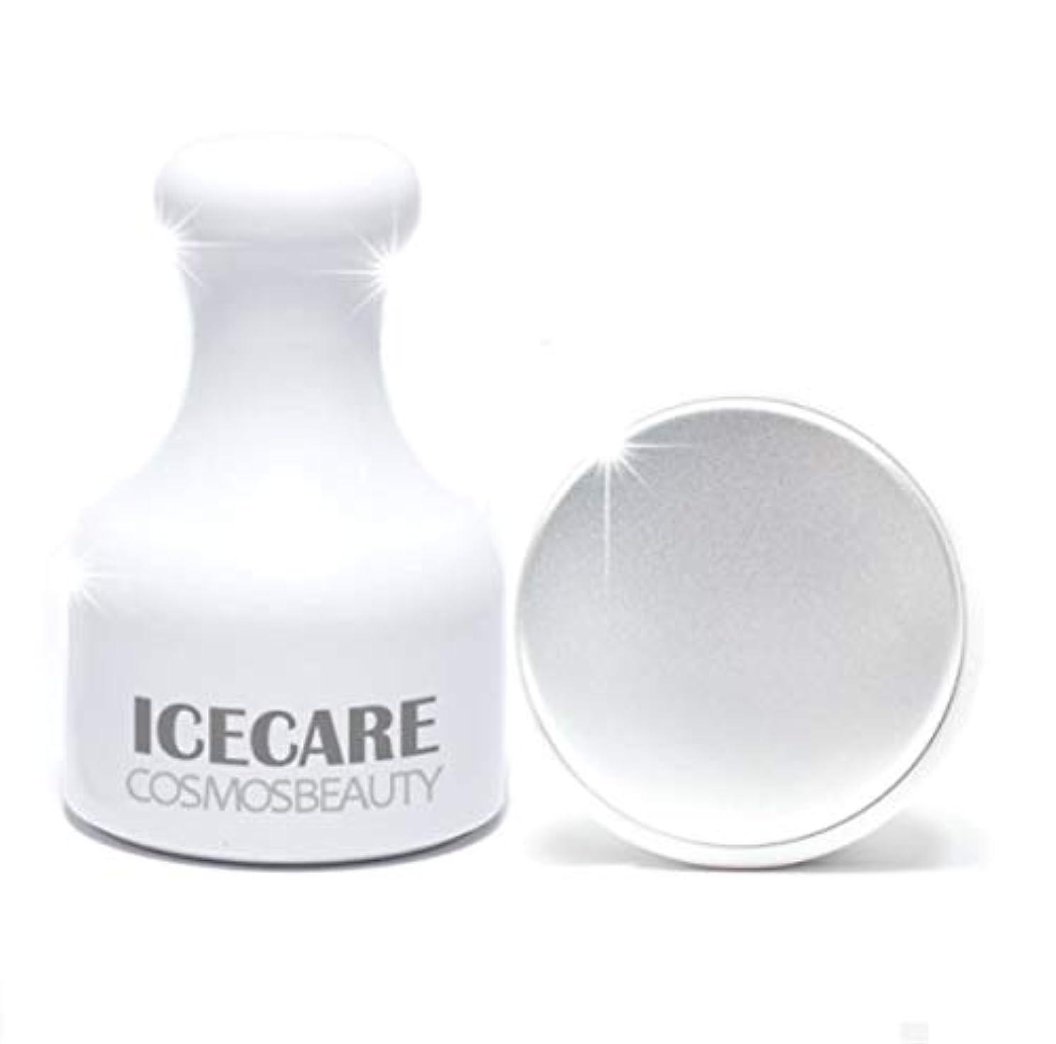 霊じゃないスイス人Cosmosbeauty Ice Care 毛穴ケア、冷マッサージ,フェイスクーラーアイスローラーフェイスローラー顔マッサージ機構の腫れ抜き方法毛穴縮小(海外直送品)
