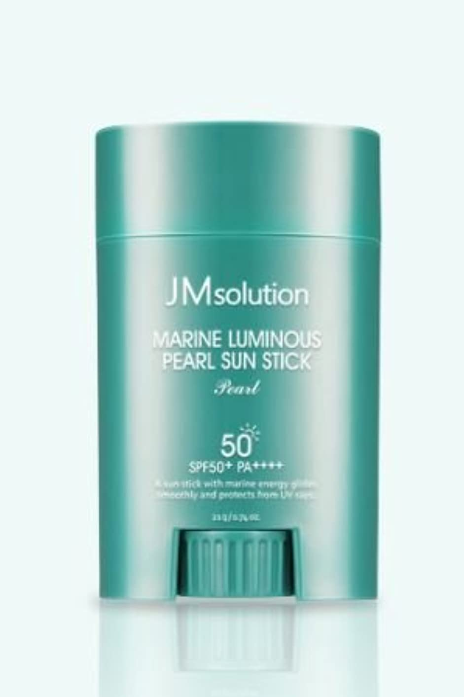 剛性卒業鉱石[JMsolution] Marine Luminous Pearl Sun Stick 21g SPF50+ PA++++ [並行輸入品]