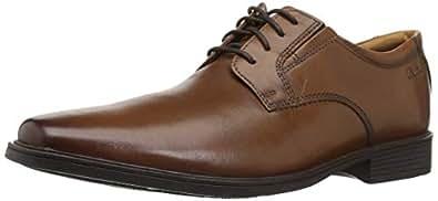 [クラークス] ビジネスシューズ 革靴 レースアップ ティルデンプレイン メンズ ダークタンレザー UK 6(24 cm) G