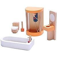 ミニ ポーズ可能 木製人形 ミニ 人々 フィギュア 家族 ごっこ遊び おもちゃ ギフト free OVERMAL Toy b325