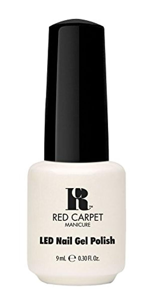 年齢衝突する巧みなRed Carpet Manicure - LED Nail Gel Polish - #lostmyslipper - 0.3oz / 9ml