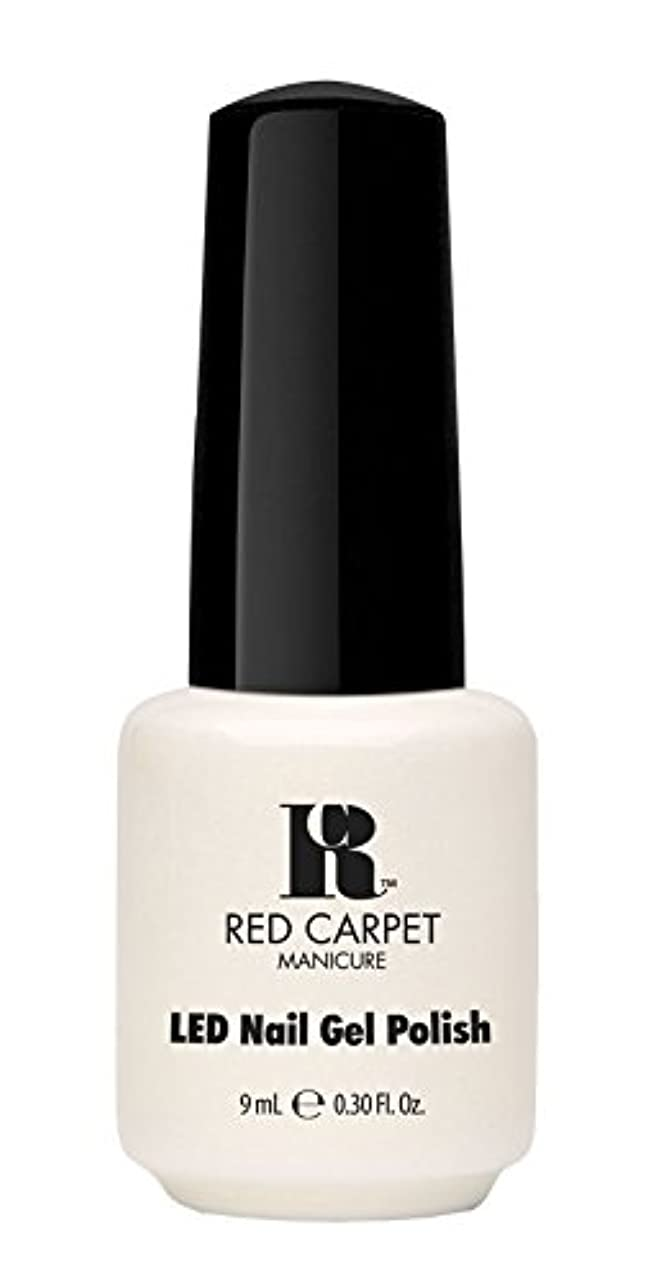 給料議会彫刻家Red Carpet Manicure - LED Nail Gel Polish - #lostmyslipper - 0.3oz / 9ml