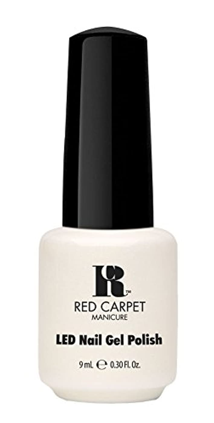 マラソン音声学アルプスRed Carpet Manicure - LED Nail Gel Polish - #lostmyslipper - 0.3oz / 9ml