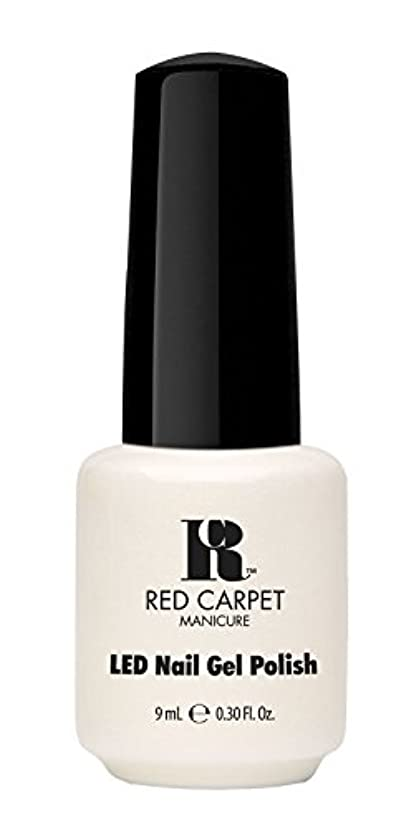 スカープルーキー魅惑的なRed Carpet Manicure - LED Nail Gel Polish - #lostmyslipper - 0.3oz / 9ml