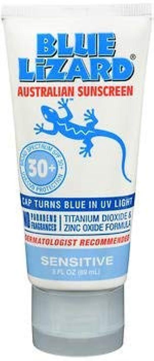 Blue Lizard Australian Sunscreen SPF 30+ Sensitive- 3液量オンス、5パック