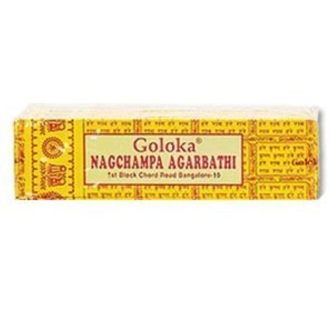世代ノーブルゾーンGoloka Nagchampa incense - 40 Grams per Pack by Goloka [並行輸入品]