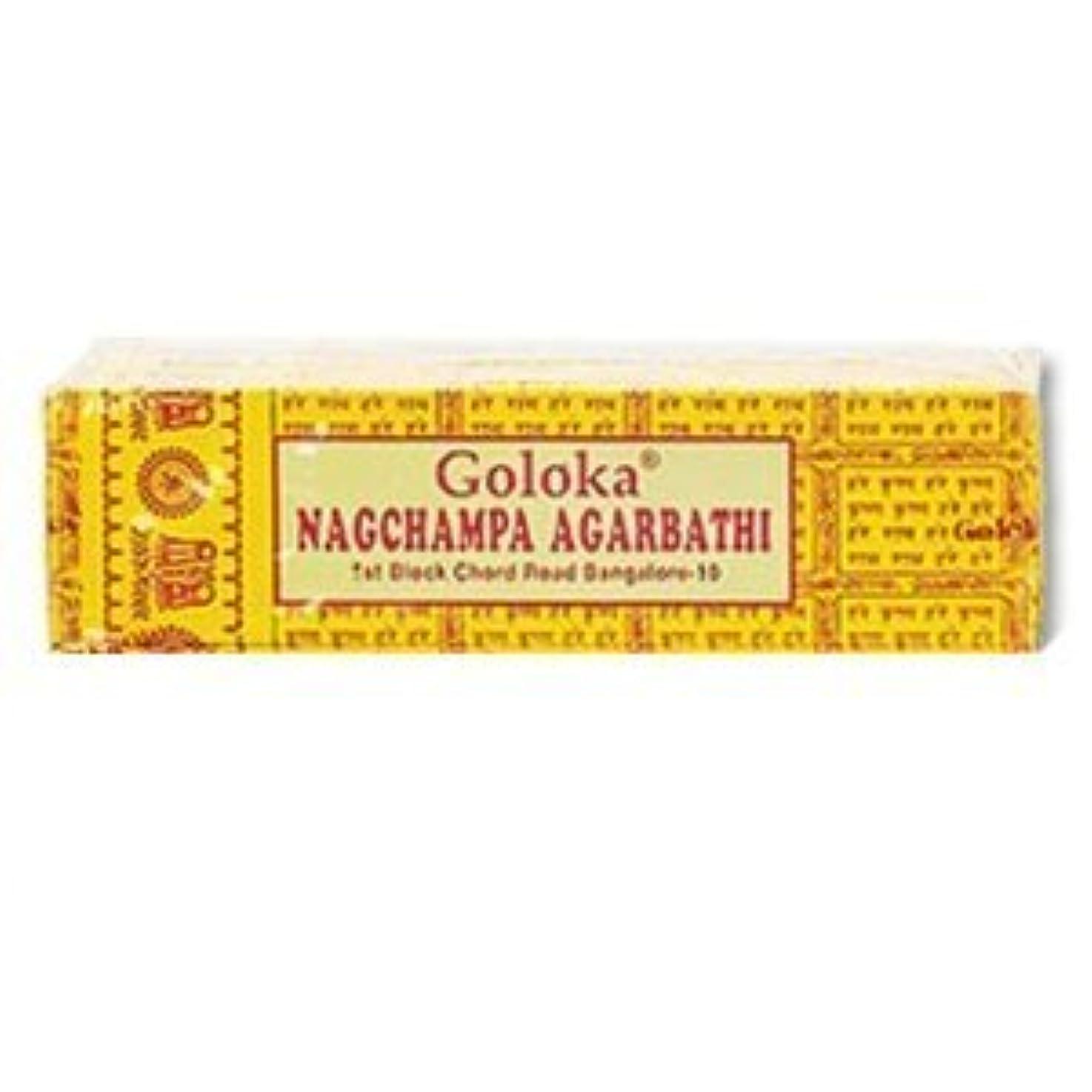 全員レスリングチチカカ湖Goloka Nagchampa incense - 40 Grams per Pack by Goloka [並行輸入品]