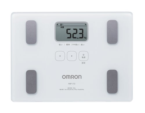 オムロン 体重・体組成計 カラダスキャン ホワイト HBF-...