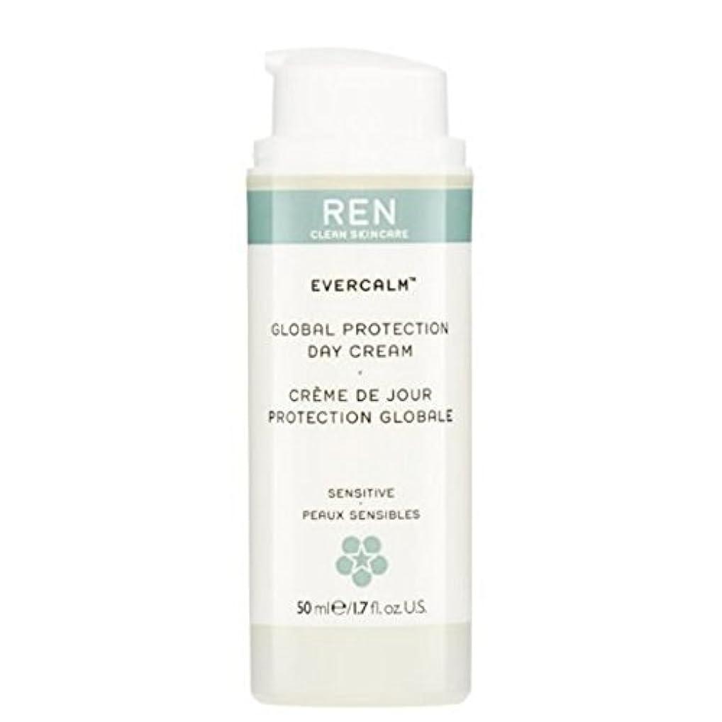 エキゾチックオーディションスクラブグローバルプロテクションデイクリーム x2 - REN Evercalm Global Protection Day Cream (Pack of 2) [並行輸入品]