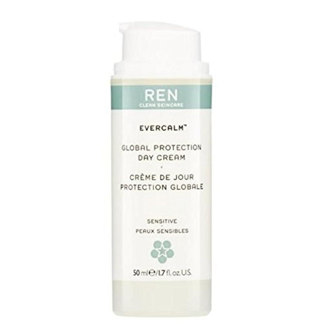 チーフおびえたためにグローバルプロテクションデイクリーム x4 - REN Evercalm Global Protection Day Cream (Pack of 4) [並行輸入品]
