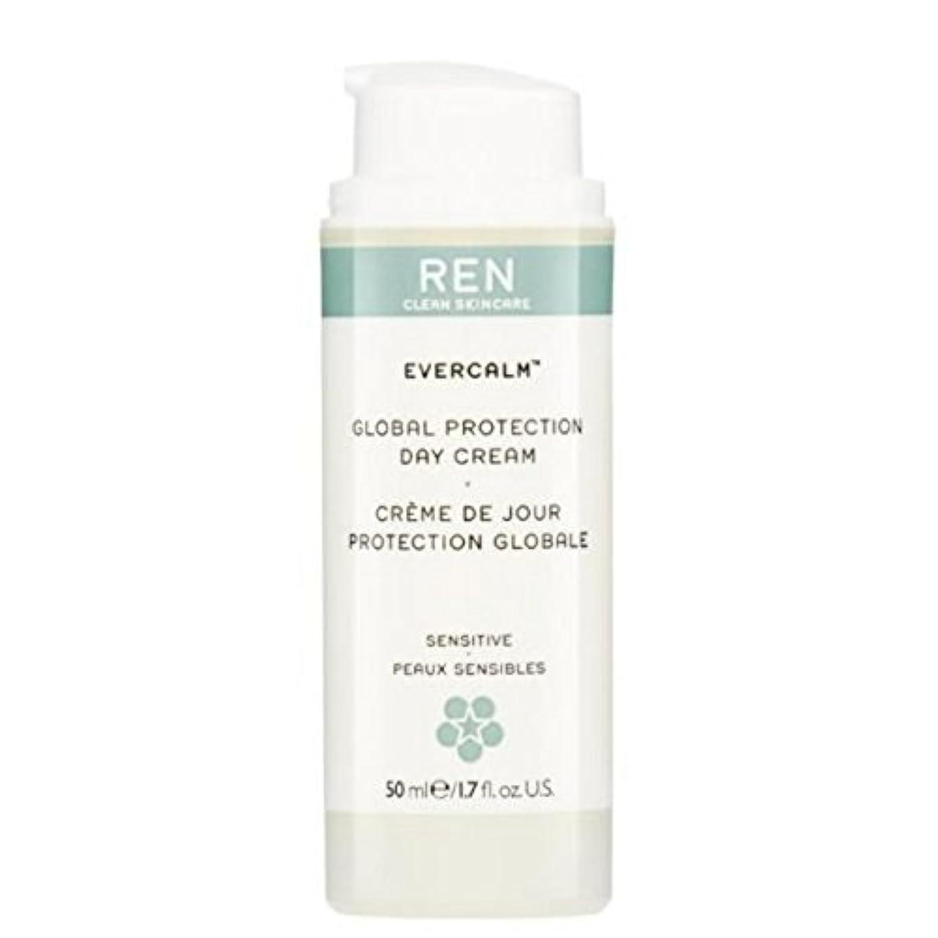 アシスタント木材モットーREN Evercalm Global Protection Day Cream - グローバルプロテクションデイクリーム [並行輸入品]