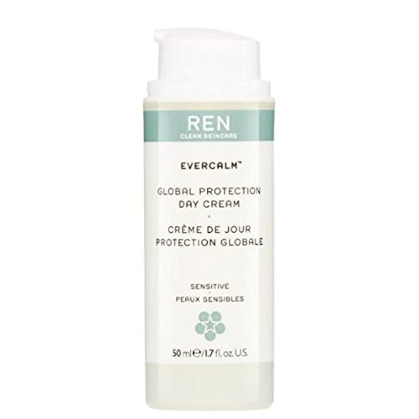 刑務所蒸気冷蔵するREN Evercalm Global Protection Day Cream (Pack of 6) - グローバルプロテクションデイクリーム x6 [並行輸入品]