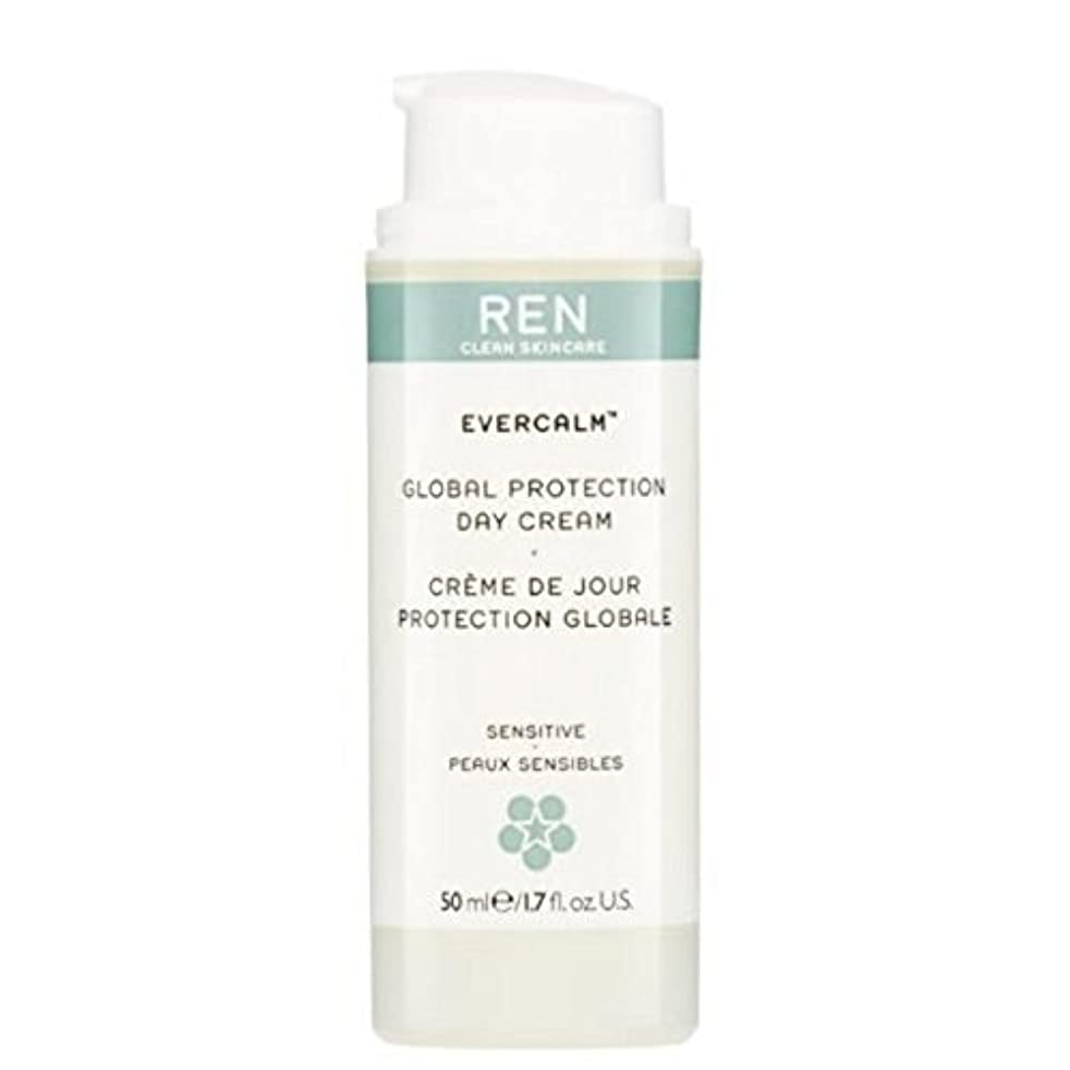 保証金腸切手グローバルプロテクションデイクリーム x2 - REN Evercalm Global Protection Day Cream (Pack of 2) [並行輸入品]