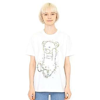 グラニフ(graniph) 【ユニセックス】Tシャツ/ボタニカルコントロールベア【001ホワイト/L】