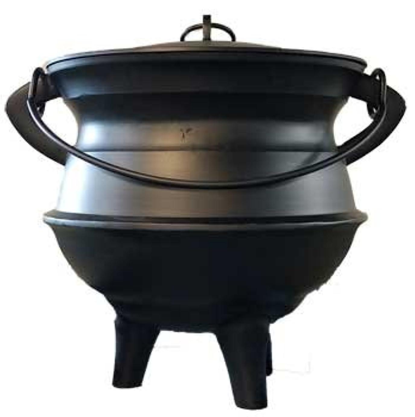 コミットメント無法者ペダルHome Fragrance Incense Holder Cauldrons Plainアルミ蓋、ハンドルXL 18インチLimited Edition