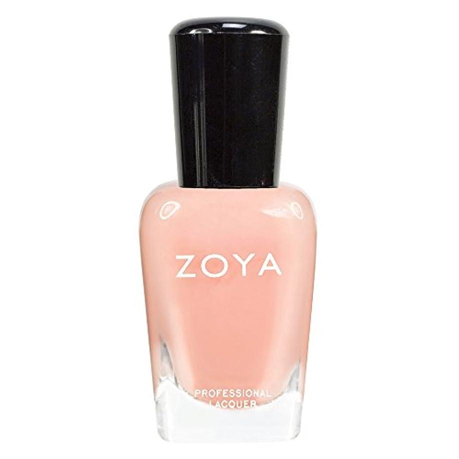 イーウェル孤独放射能ZOYA ゾーヤ ネイルカラーZP434 LULU ルル 15ml 淡く色づくフェミニンなライトピーチ シアー/クリーム 爪にやさしいネイルラッカーマニキュア