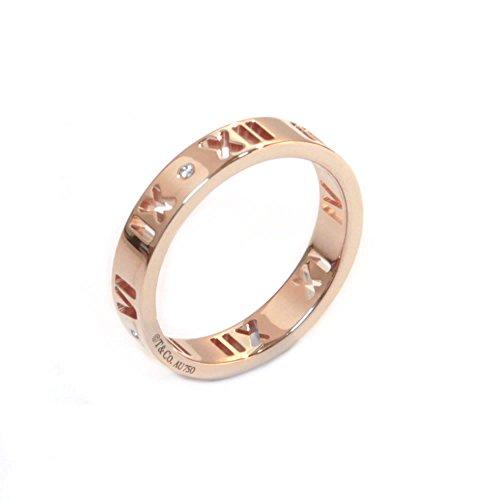 [ティファニー] TIFFANY 18KRG ローズゴールド アトラス リング ダイヤモンド 指輪 【並行輸入品】 30480694 日本サイズ10号 (USサイズ5.5号)