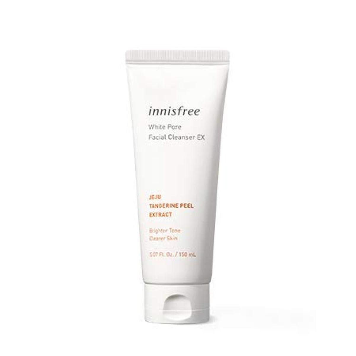 [イニスフリー.INNISFREE]ホワイトポアフェイシャルクレンザーEX150mL×2EA,(2019。新発売)White Pore Facial Cleanser Ex