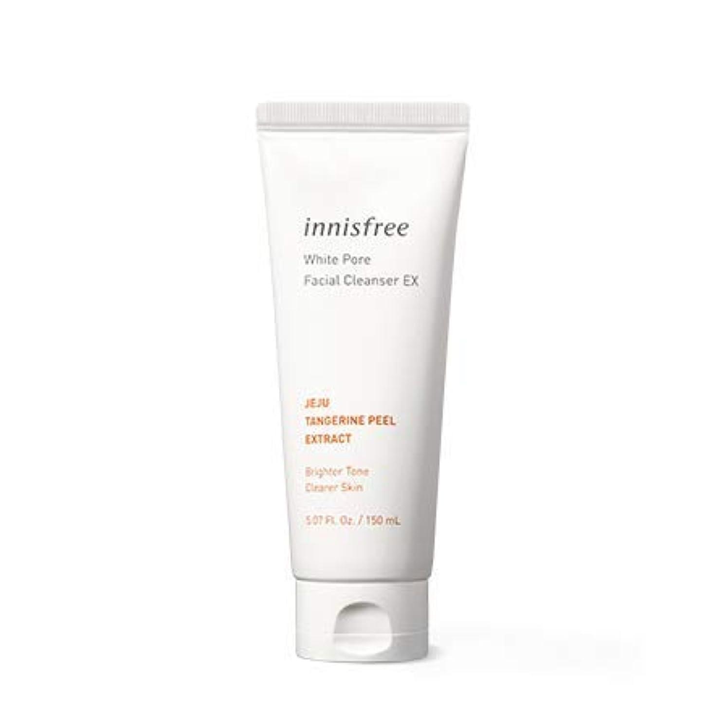 偽造電極折り目[イニスフリー.INNISFREE]ホワイトポアフェイシャルクレンザーEX150mL×2EA,(2019。新発売)White Pore Facial Cleanser Ex