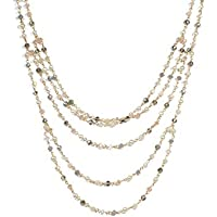 Colette Hayman - Multi Row Beaded Necklace
