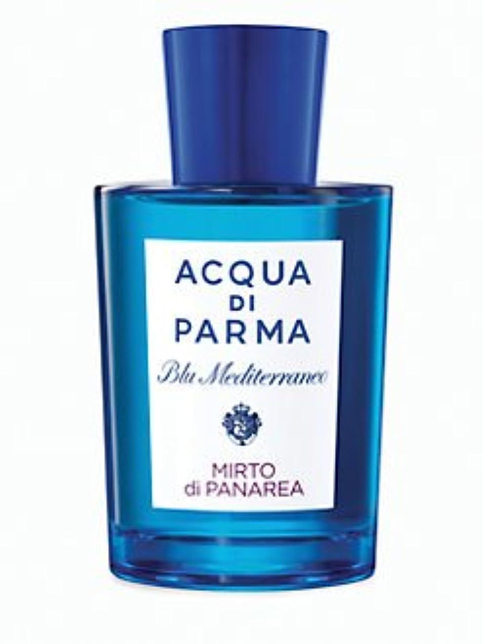 出発する不完全精神医学Blu Mediterraneo Mirto di Panarea (ブルー メディタレーネオ ミルト ディ パナレア) 5.0 oz (150ml) EDT Spray by Acqua di Parma