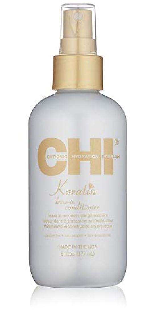 平野アピール熱望するCHI Keratin Leave-In Conditioner Leave in Reconstructive Treatment 177ml