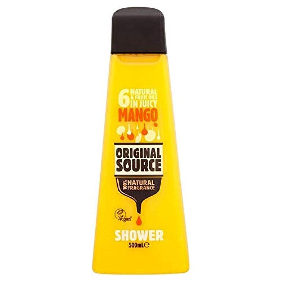 占める滞在州[Original Source ] 元のソースマンゴーシャワージェル500ミリリットル - Original Source Mango Shower Gel 500ml [並行輸入品]