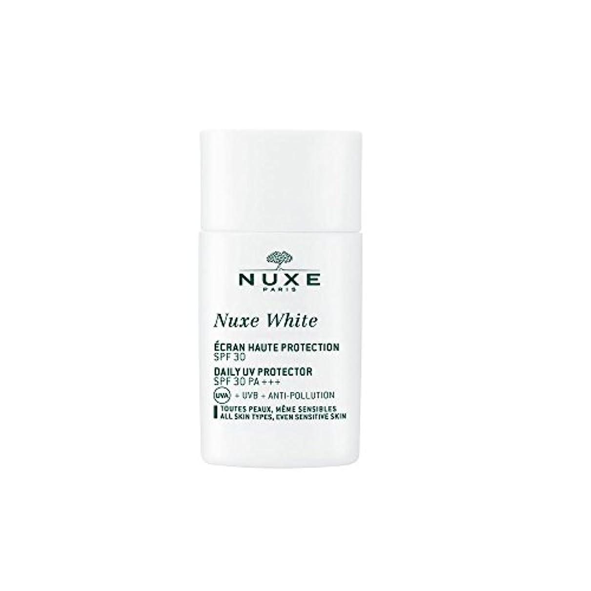 設計廃棄金額ニュクス(NUXE) ニュクスホワイト UV プロテクター 30 30mL