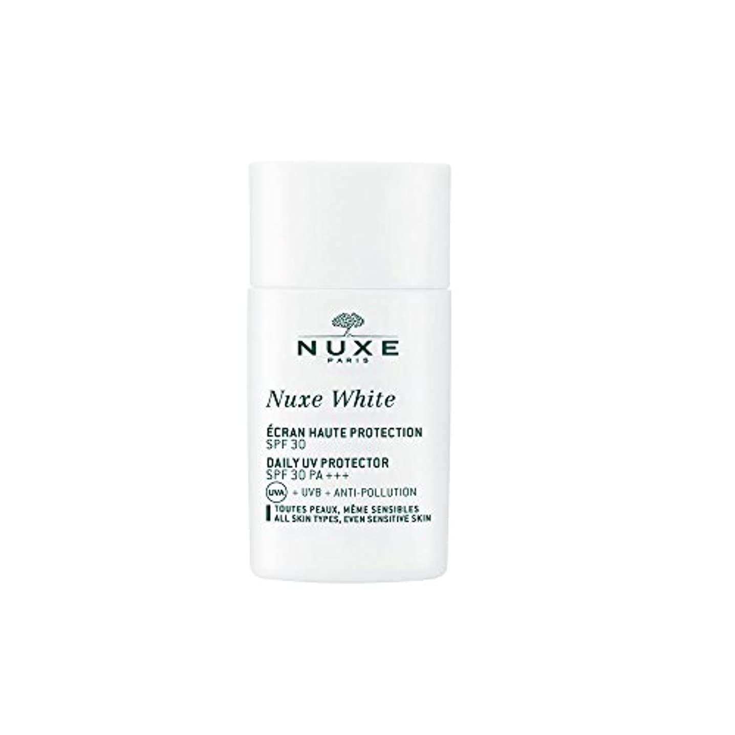 普及写真を描く反対するニュクス(NUXE) ニュクスホワイト UV プロテクター 30 30mL