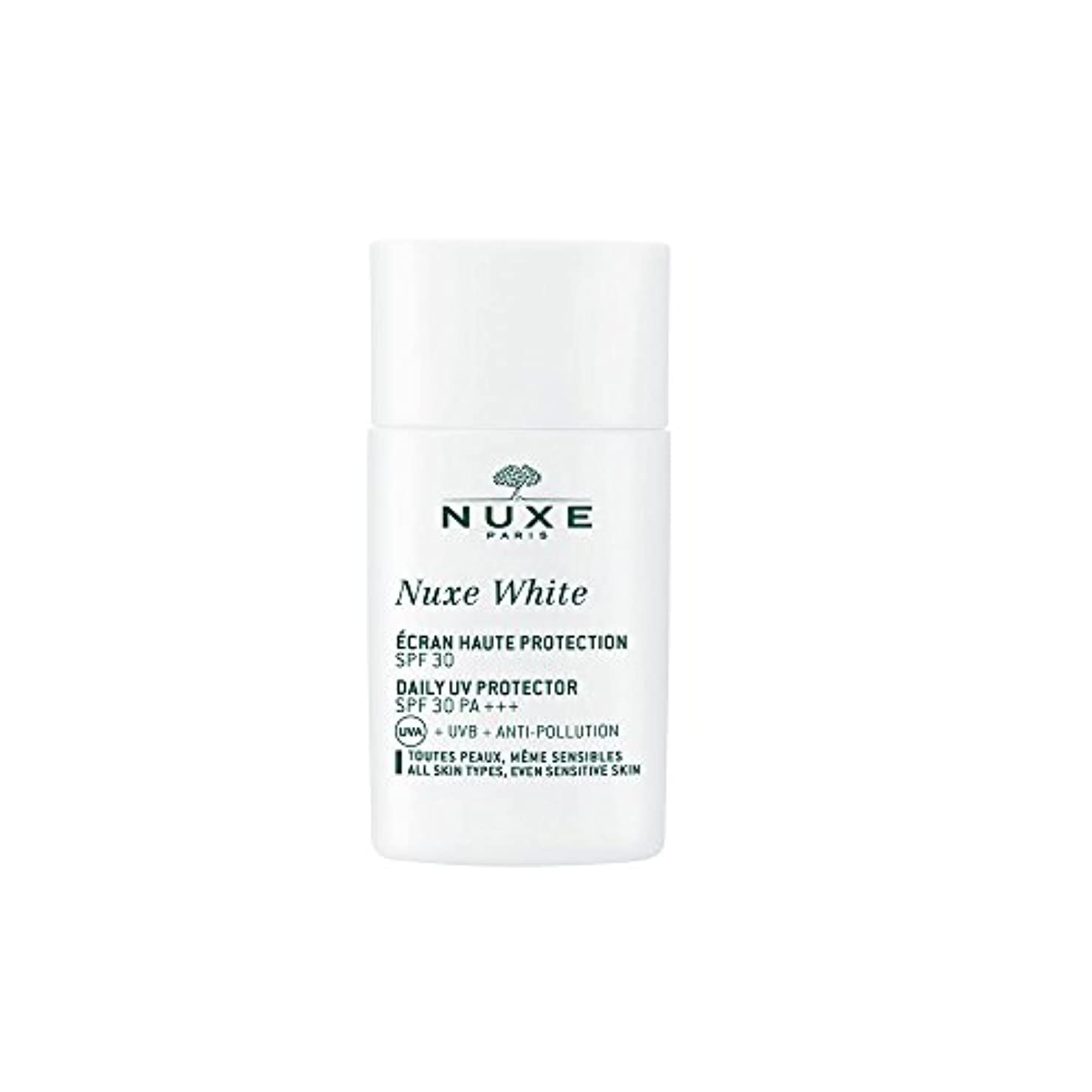 ストライプ許容影響ニュクス(NUXE) ニュクスホワイト UV プロテクター 30 30mL