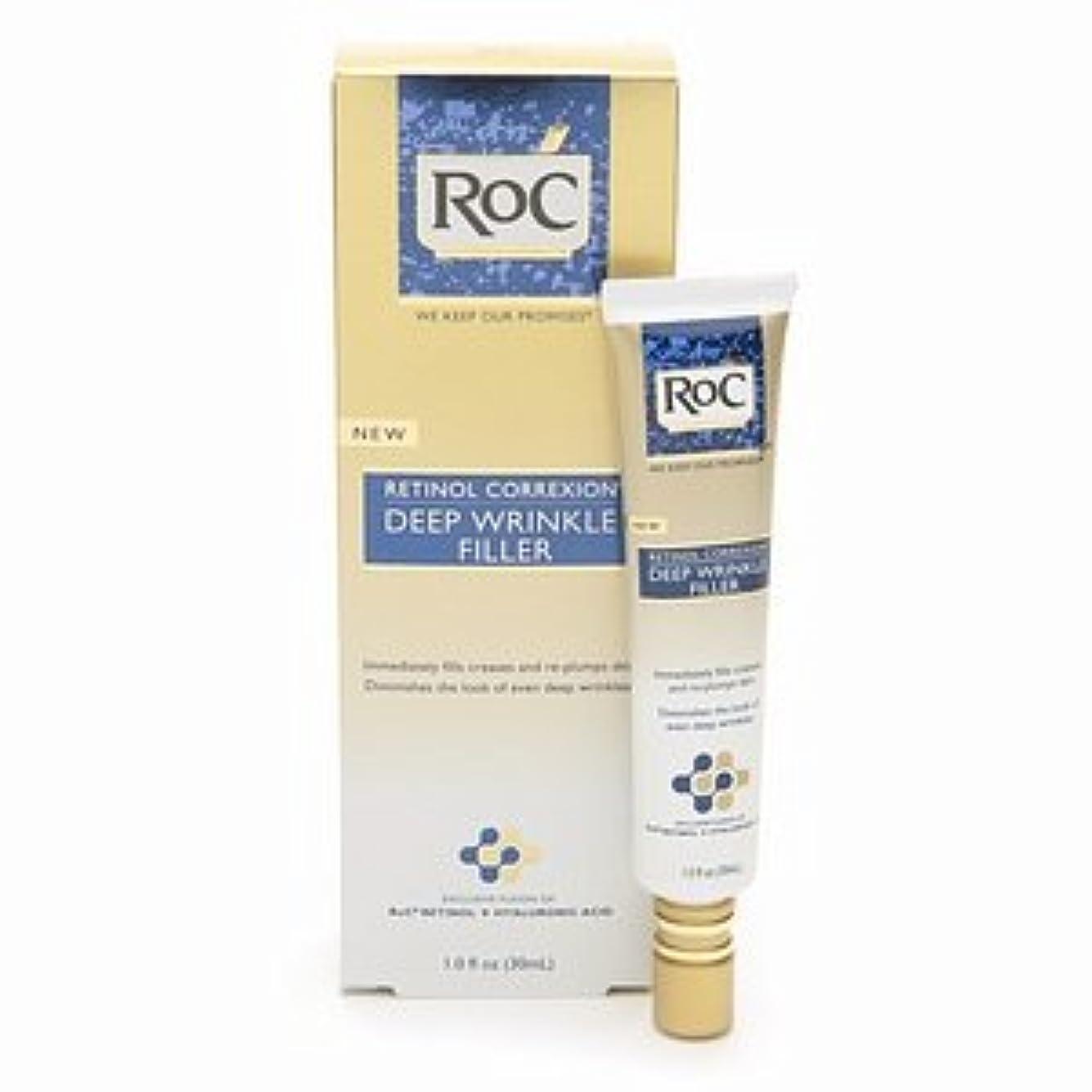 落とし穴適応的説明RoC レチノール コレクション ディープリンクル フィラー RoC Retinol Correxion Deep Wrinkle Filler