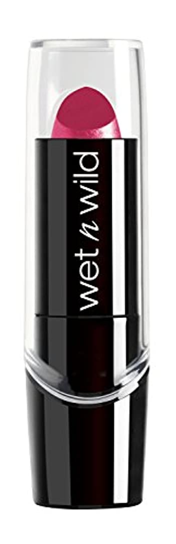 拡大する書く衰えるWET N WILD New Silk Finish Lipstick Light Berry Frost (並行輸入品)