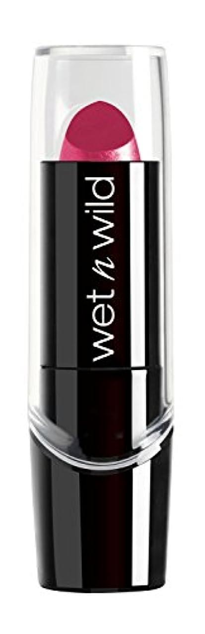 事フェンス崇拝しますWET N WILD New Silk Finish Lipstick Light Berry Frost (並行輸入品)