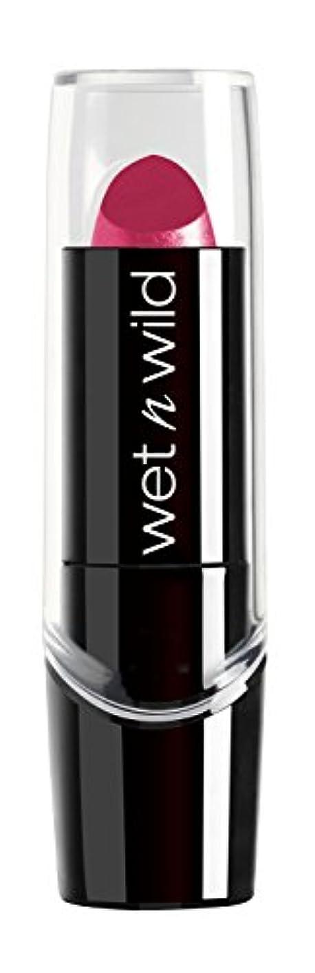 反響するぶどう下位WET N WILD New Silk Finish Lipstick Light Berry Frost (並行輸入品)