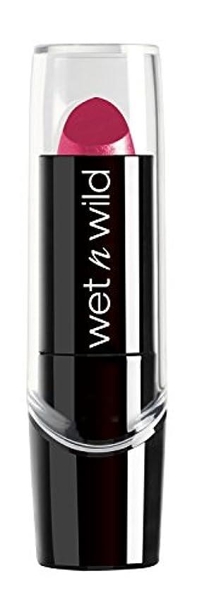 炎上アナロジー免疫するWET N WILD New Silk Finish Lipstick Light Berry Frost (並行輸入品)