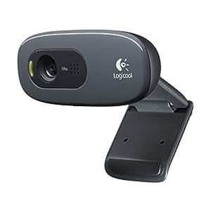 ロジクール ウェブカメラ C270m ブラック HD 720P ウェブカム ストリーミング 小型 シンプル設計 ヘッドセット付属 国内正規品 2年間メーカー保証