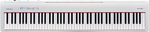 ローランド電子ピアノFP-30ホワイト「GIGケース&サスティンペダル付き」RolandFP30-WH