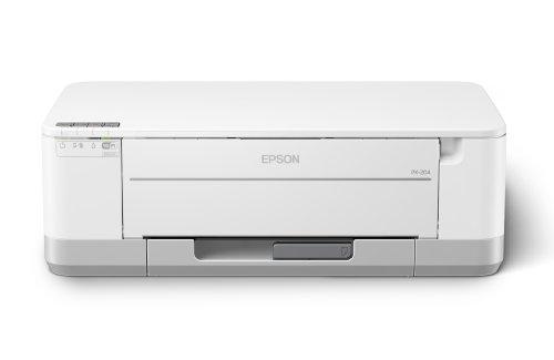 EPSON インクジェットプリンター PX-204 有線・無線LAN標準対応 自動両面標準搭載 前面給紙カセット 4色顔料インク