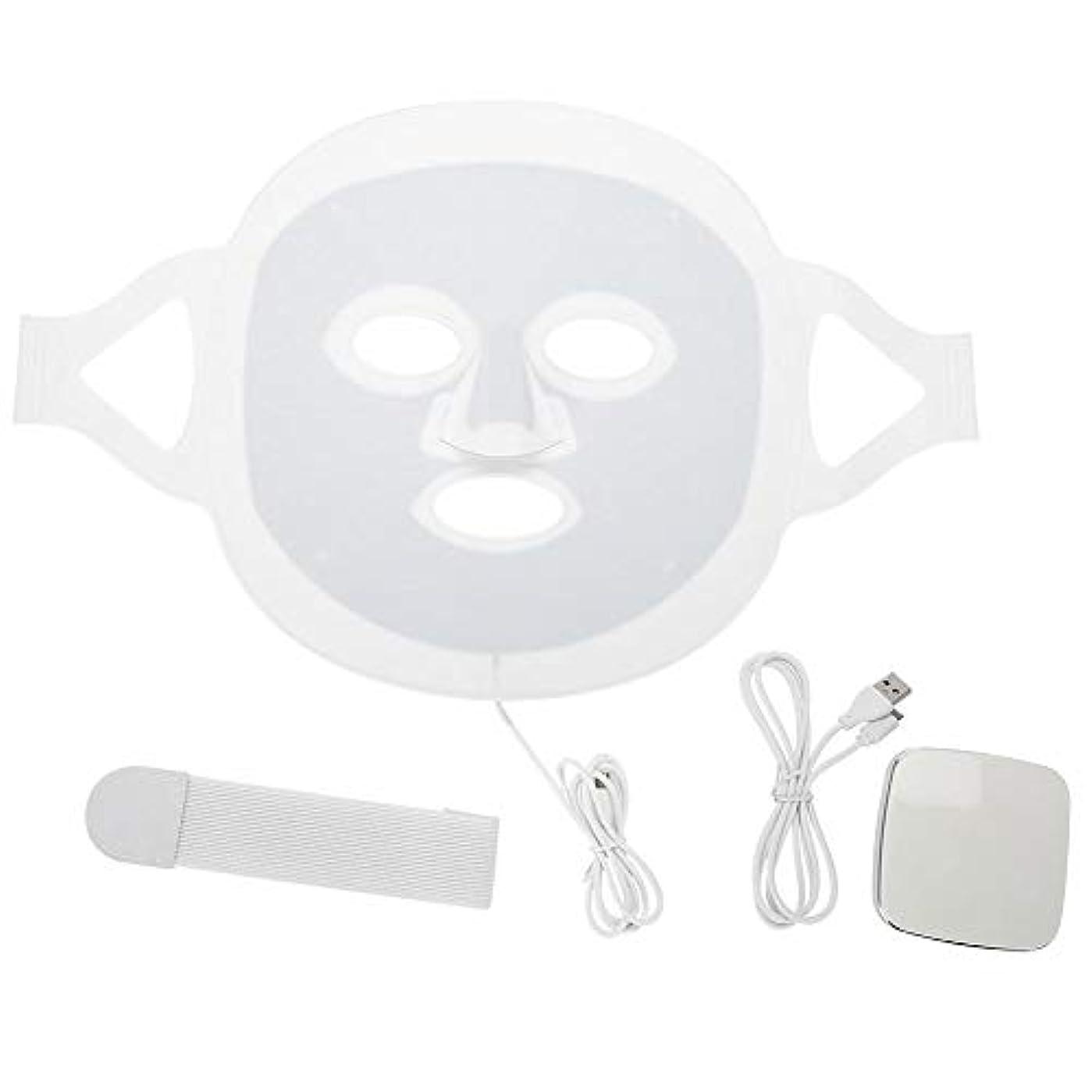 最も早い抵抗いいねLEDマスク3色LEDライトフォトンフェイスマスク肌のより良いにきび除去肌美容機器