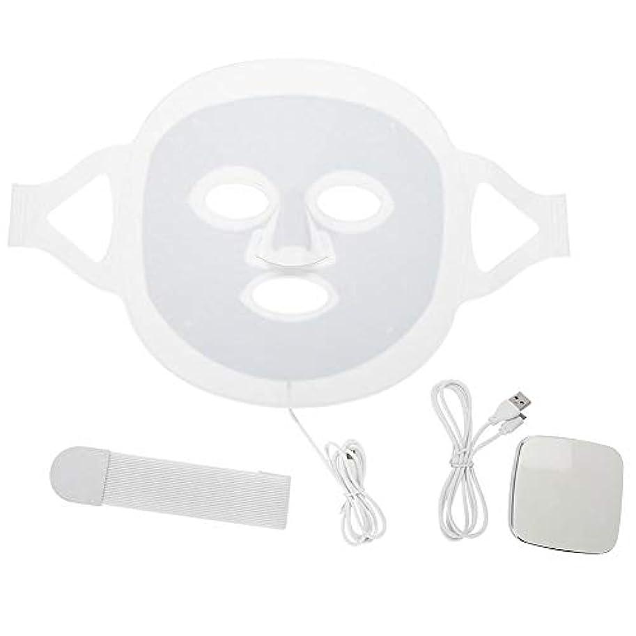 健康心のこもったあなたのものLEDマスク3色LEDライトフォトンフェイスマスク肌のより良いにきび除去肌美容機器