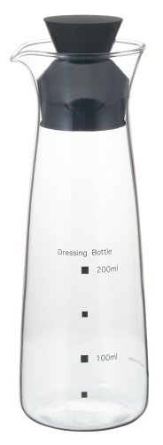 iwaki ドレッシングボトル 300ml K5014-BK