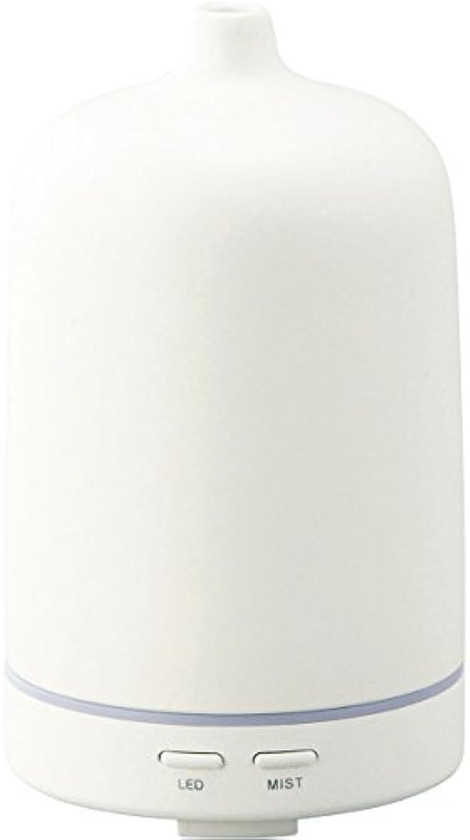 公平主張捧げるラドンナ アロマディフューザー セラミー ADF23-CR ホワイト