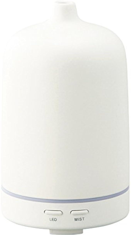 ギネスエイズコンペラドンナ アロマディフューザー セラミー ADF23-CR ホワイト