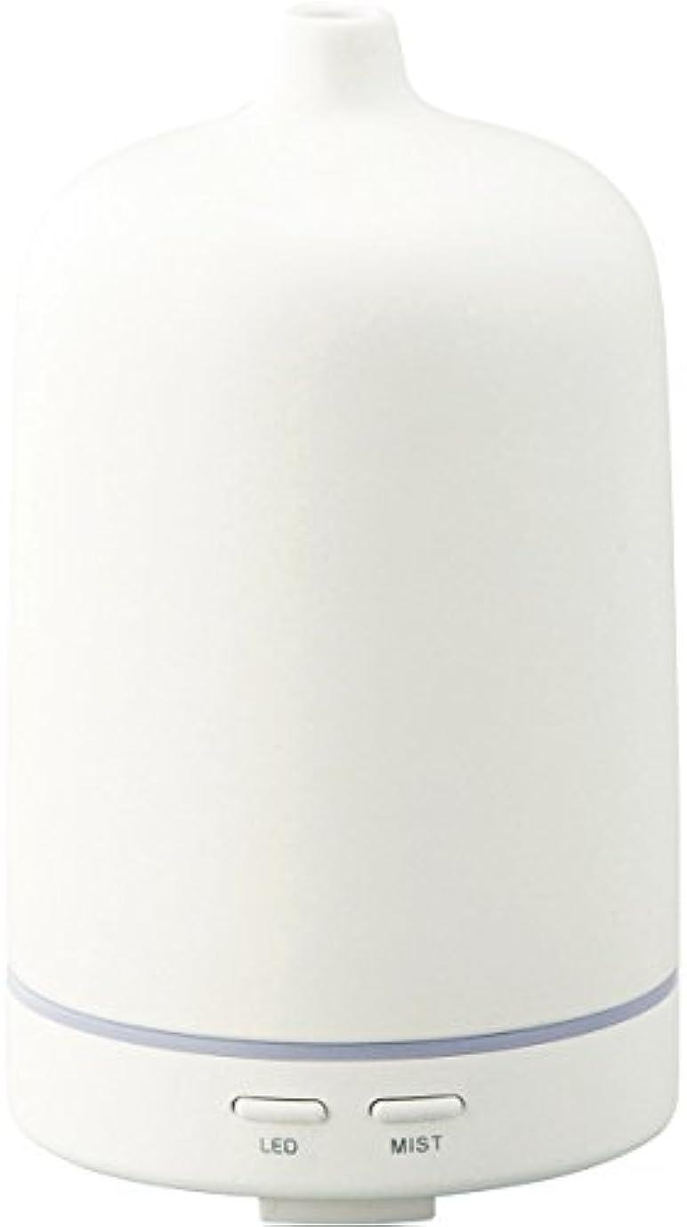 立方体協同草ラドンナ アロマディフューザー セラミー ADF23-CR ホワイト