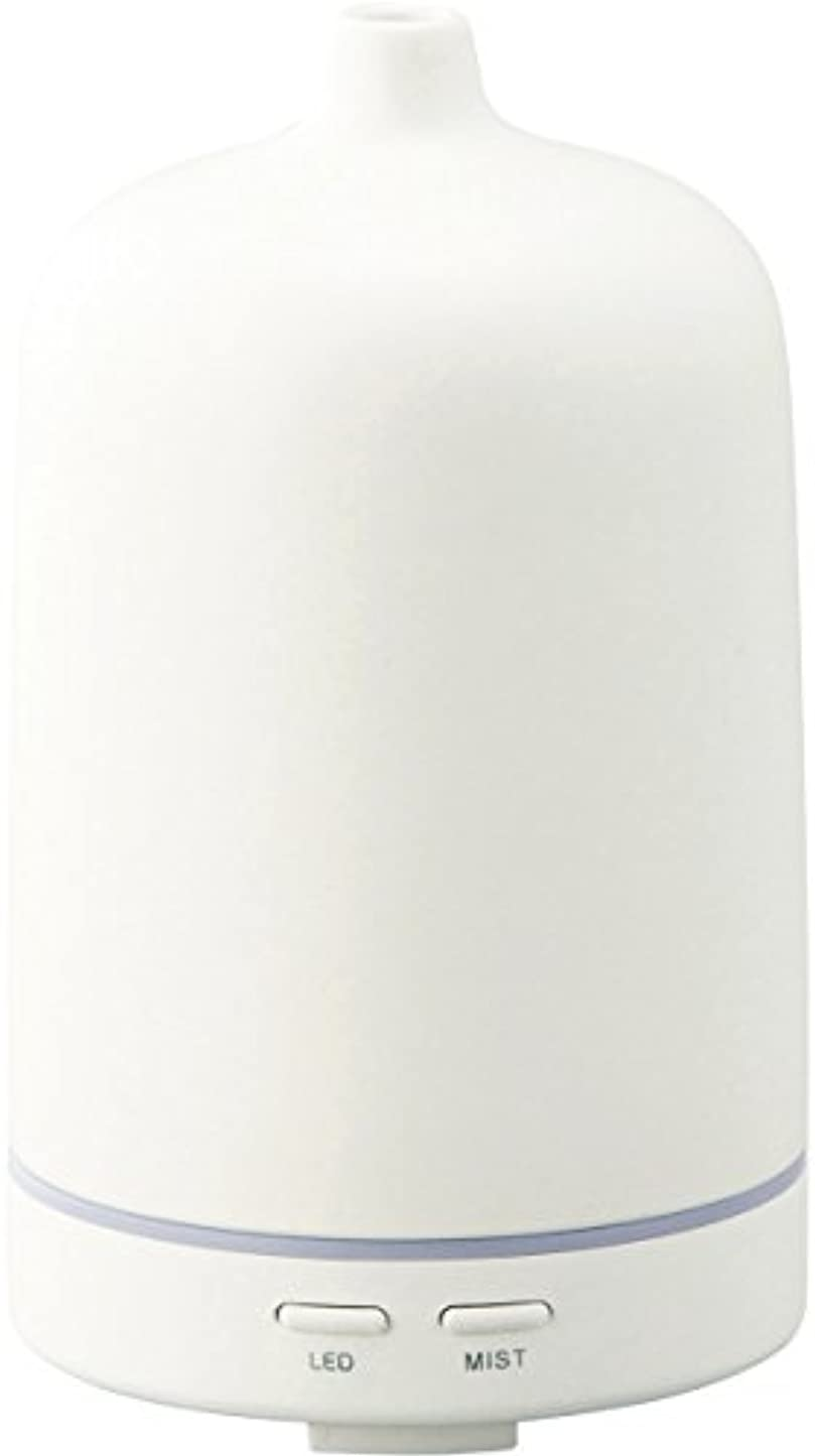 年齢お不規則性ラドンナ アロマディフューザー セラミー ADF23-CR ホワイト